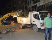 صور.. سكرتير عام الأقصر يقود حملة نظافة شاملة ليلاً لتجميل المدينة