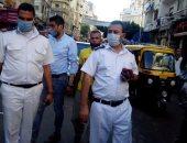 صور .. إزالة الإشغالات فى حملات مكبرة شرق الإسكندرية