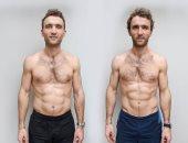 توأم بريطانى يخضعان لتجربة نظامين غذائيين مختلفين فى 12 أسبوعا..اعرف النتيجة