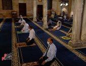 صور.. أول خطبة جمعة بالجامع الأزهر بعد توقف 66 يوما