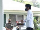 رئيس إندونيسيا يؤدى صلاة الجمعة بالمسجد