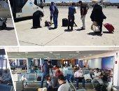 مطار القاهرة يستقبل 809 من المصريين العالقين بعدة دول على متن 5 رحلات