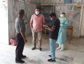 لجنة من الوحدة المحلية لمدينة إدفو لمتابعة احتياجات مستشفى الصدر.. صور