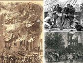 """قتل """"فلويد"""" يعيد فصول العنصرية بأمريكا للأذهان.. إعلان """"لينكولن"""" تحرير العبيد عام 1862 يشعل حرب أهلية فى العام التالى..المواطنون البيض أحرقوا المبانى الحكومية والعسكرية.. والتخريب طال ممتلكات ودور يتامى """"السود"""""""