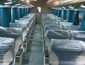 """وزير النقل: تطوير 90 عربة إسبانى """"أولى وثانية"""" مكيفة فى ورش السكة الحديد.. صور"""