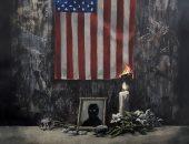 """العنصرية تحرق أمريكا فى جرافيتى جديد لـ""""بانكسى"""" عن اضطهاد السود.. صور"""