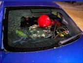 أيمن أشرف يطمئن الجماهير بعد تعرضه لحادث سير وتحطم سيارته