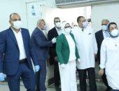حصاد الوزارات.. وزيرة الصحة: سحب التاميفلو من بروتوكول علاج مرضى كورونا