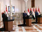 """نص كلمة الرئيس السيسى لإعلان """"القاهرة """" لحل الأزمة الليبية"""