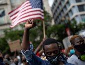 استمرار احتجاجات أمريكا.. الآلاف فى مسيرة لموقع اعتقال جورج فلويد لإحياء ذكراه