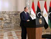 السيسي: قلقون من ممارسات بعض الأطراف في ليبيا