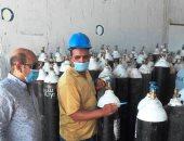محافظ أسوان يوجه بتوفير 100 أسطوانة أوكسجين بأسعار رمزية للخاضعين للعزل المنزلى