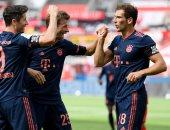 البايرن ضد اينتراخت.. ليفاندوفسكى يقود هجوم البافارى فى نصف نهائى كأس ألمانيا
