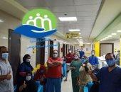 مستشفى إسنا للحجر الصحى تعلن خروج 23 حالة تعافى من كورونا.. صور