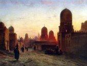 """100 لوحة عالمية .. """"مقابر القاهرة"""" قدسية الموت فى الحضارة المصرية"""