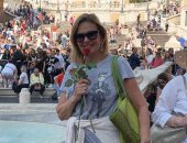 صورة.. يسرا تسترجع ذكرياتها فى روما: لا أستطيع الانتظار للعودة إلى هناك