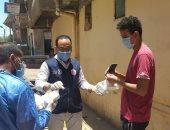 صحة أسوان توزع حقيبة أدوية للمخالطين للحالات الإيجابية لفيروس كورونا