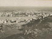 """صورة تاريخية للمدينة المنورة من قمة جبل """"سلع"""" بالسعودية .. عمرها 107 عاما"""