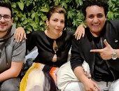 الحب والسلام.. أصالة ومحمد رحيم فى كواليس أغنية جديدة قبل طرحها