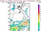 مركز التنبؤ بالفيضان ينشر خرائط سقوط الأمطار على منابع النيل حتى الاثنين
