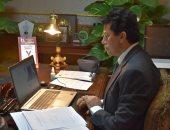 أشرف صبحي يبحث ترتيبات انعقاد اجتماعات مجلس وزراء الشباب والرياضة العرب ومكتبه التنفيذة