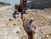 صور .. تنفيذ 4 مشروعات للبنية التحتية بقرى العامرية غرب الإسكندرية