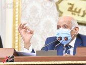 صور.. عبد العال يحيل قوانين الانتخابات للتشريعية ويؤكد: تسمح لكل القوى بالتواجد