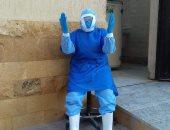 الجيش الأبيض.. فتوح مراقب إدارة التخلص الآمن من النفايات الطبية بكفر الشيخ
