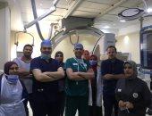 أطباء جامعة طنطا ينقذون سيدة روسيه من الموت بعد إصابتها بنزيف فجائى في المخ