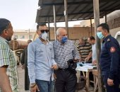 10 صور ترصد أول يوم عمل لرئيس مدينة الحسينية ويعلن عن رقم  واتس الشكاوى