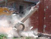محافظة سوهاج: إزالة 21 حالة تعدي على الاراضي الزراعية والبناء المخالف