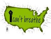 كاريكاتير صحيفة إماراتية يسلط الضوء على مقولة جورج فلويد: لا استطيع التنفس