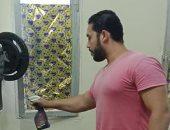 مركز شباب نويبع بجنوب سيناء ينفذ حملة تعقيم للمنشآت الرياضية