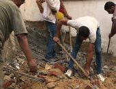 تنفيذ 3 قرارات إزالة للبناء المخالف شرق الإسكندرية.. صور