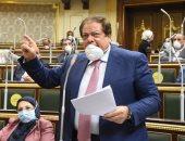 أبو العينين يطالب بالتواصل مع برلمانات العالم لحشد تأييد دولي لمبادرة السيسي لحل الأزمة الليبية