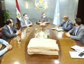 محافظ كفر الشيخ ورئيس الهيئة القومية للاستشعار عن بُعد يبحثان تتبع الملوثات بالمحافظة
