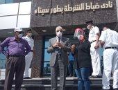 فيديو وصور.. جولة ميدانية لمحافظ جنوب سيناء بمدينة الطور
