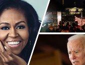 عضو الحزب الديمقراطى الأمريكى: الجميع يتوقع ميشيل أوباما نائبا لبايدن