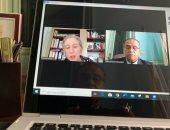 نائب رئيس جامعة عين شمس يبحث إنشاء درجة دولية باللغة البرتغالية بكلية الآلسن