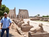 """صور.. """"اليوم السابع"""" فى جولة بقلب طريق الكباش ومعبد الأقصر الفرعونى"""