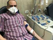 جامعة أسيوط تستقبل أول متبرع للبلازما المستخدمة فى علاج مصابى كورونا