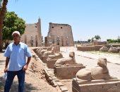 """""""اليوم السابع"""" فى جولة بقلب طريق الكباش ومعبد الأقصر الفرعونى"""