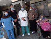 فيديو .. المتعافون من كورونا بمستشفي تمى الامديد يوجهون الشكر للرئيس والأطباء