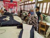 التعليم الفنى بالجيزة يصنع 65 ألف قطعة ملابس للمدارس بـ 5 ملايين جنيه