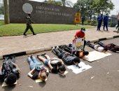 مظاهرات أمام السفارة الامريكية فى كينيا احتجاجا على مقتل جورج فلويد