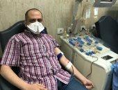 أول متبرع بالبلازما فى أسيوط: هدفى إنقاذ حياة مريض مصاب بفيروس كورونا