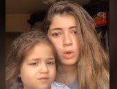 """على طريقة رضوى الشربينى..ليلى زاهر وشقيقتها نور فى فيديو جديد على """"تيك توك"""""""