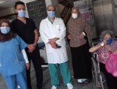 خروج 23 متعافى من فيروس كورونا من مستشفىى العزل بالدقهلية.. صور