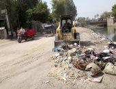 محافظة سوهاج : رفع 3525 طن قمامة ومخلفات صلبة خلال 7 أيام