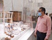 خالد العنانى: سعيد برؤية المتحف القومى للحضارة بالفسطاط فى طريقه للنور